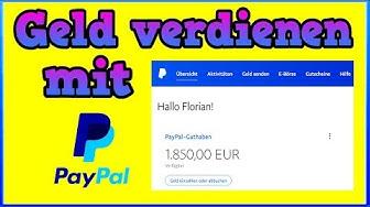 1850€ mit Paypal online Geld verdienen! 💸💰