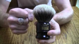 Simpson Chubby 2 Silvertip Badger Shaving Brush the Nitty Gritty
