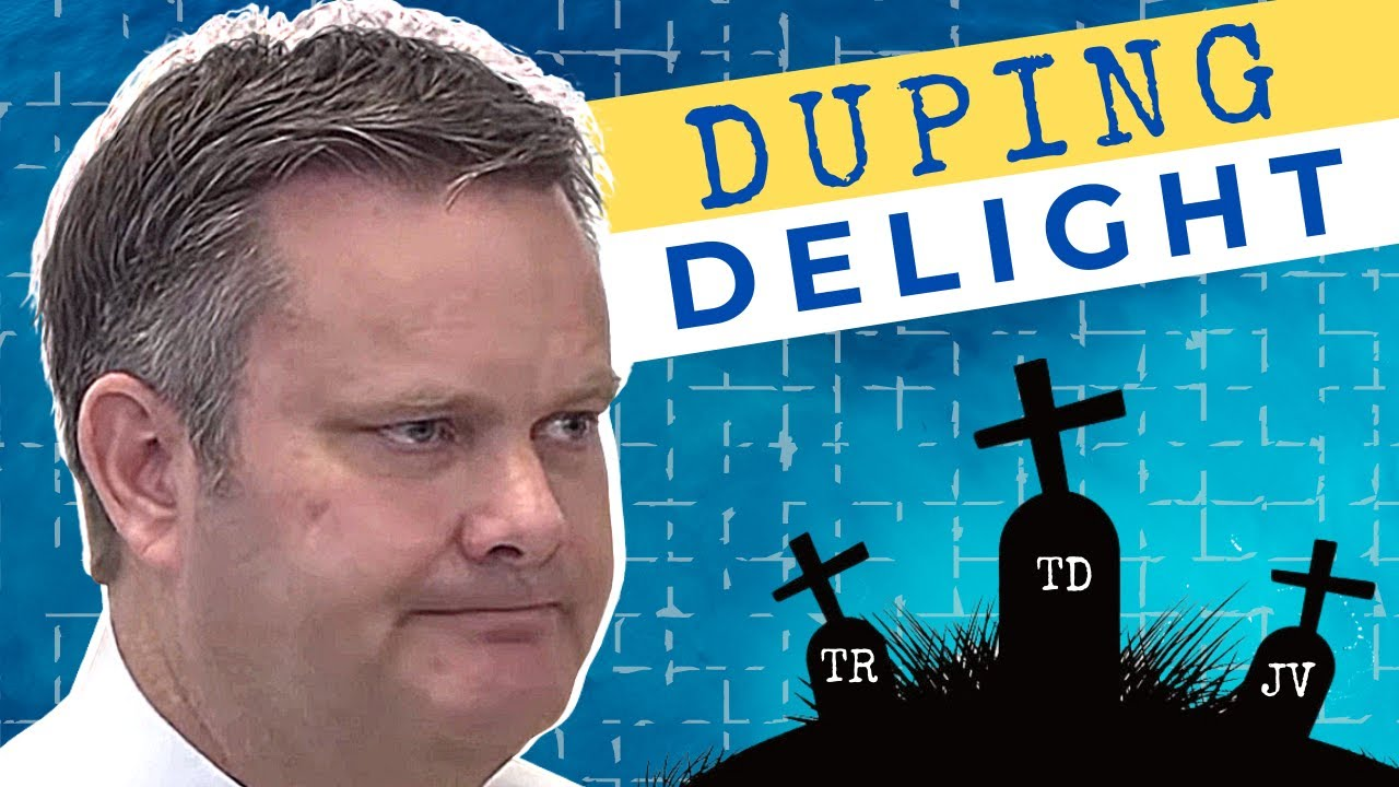 DUPING DELIGHT - A Deeper Look at Chad Daybell's Responses In Court.