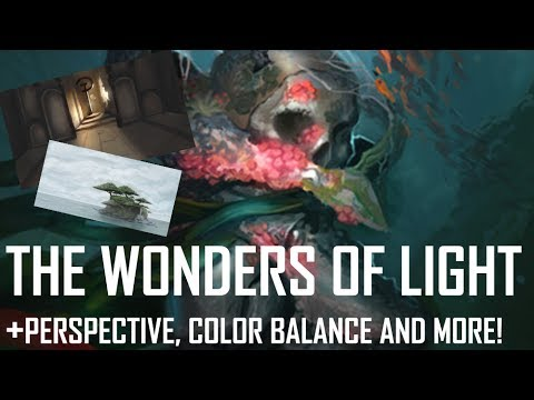 Critique Hour! The wonders of light! + Perspective, color balance, and more!