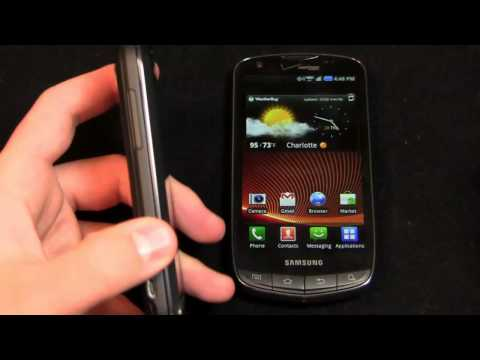 T-Mobile myTouch 4G Slide vs. Samsung DROID Charge Dogfight Part 1