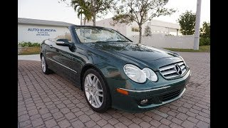 The best Mercedes is a green Mercedes like this 2009 Mercedes-Benz CLK 350 Convertible
