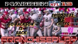 Madden 13 بو جاكسون عاد متصل وظائف - Ep. 12 مقابل رؤساء