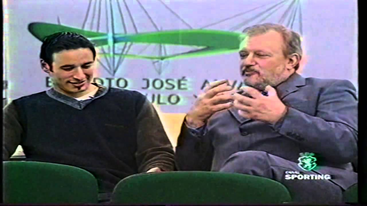 Bino (Sporting) e Lauro António (Cinema) em 29/04/1999