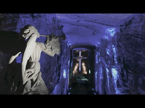 Salt Cathedral in Zipaquira, Colombia is an underground treasure