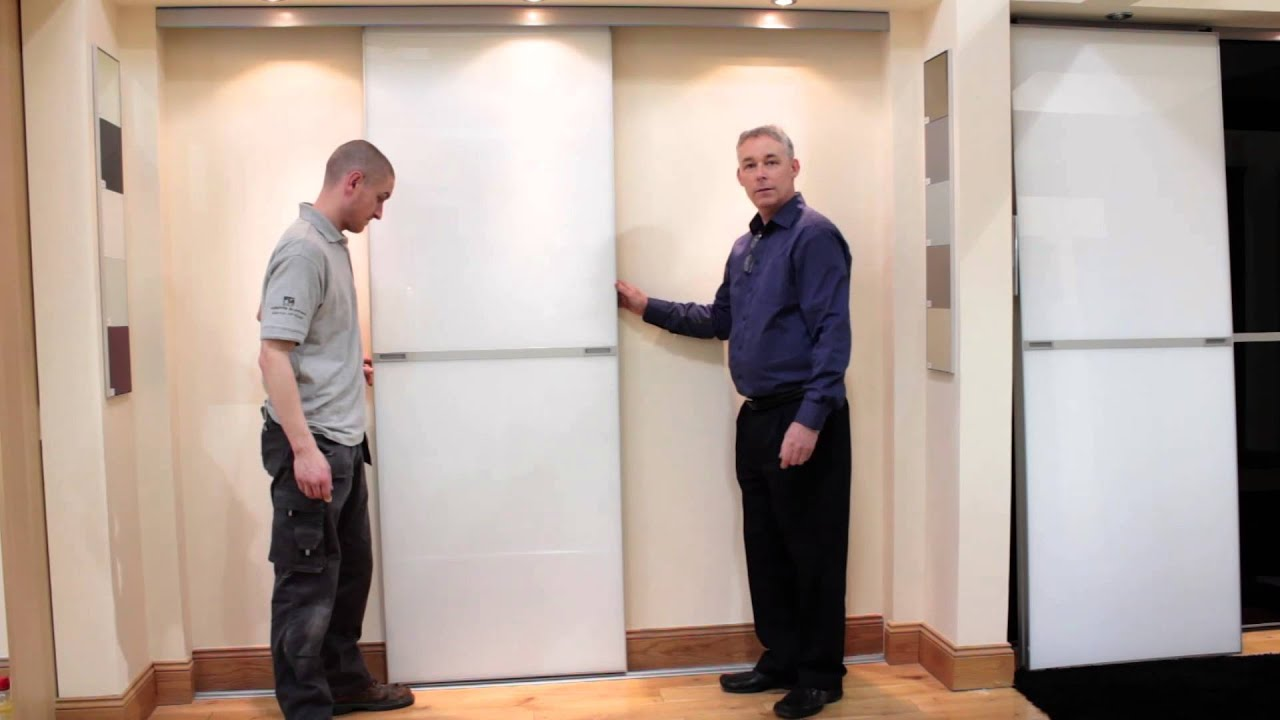 Exceptionnel Sliding Doors Installation Video   YouTube
