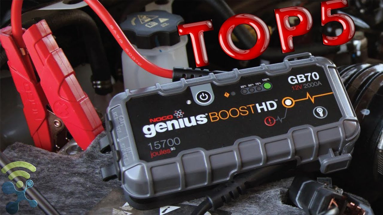 5 Best Portable Jump Starters For Cars To Buy On Amazon