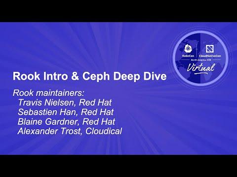 Rook: Intro and Ceph Deep Dive - Blaine Gardner, Alexander Trost, & Travis Nielsen, Sébastien Han