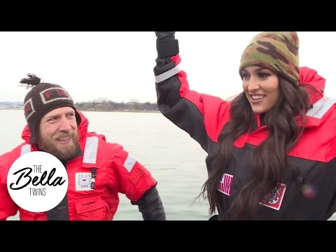 Nikki and Daniel Bryan join the United States Coast Guard for a day