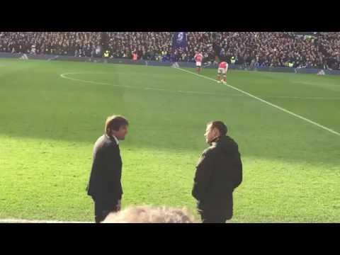 Chelsea Arsenal 3-1, l'esultanza di Antonio Conte