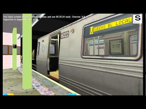 OpenBVE Railfanning: Forest Hills 71st Avenue, Queens Blvd Line