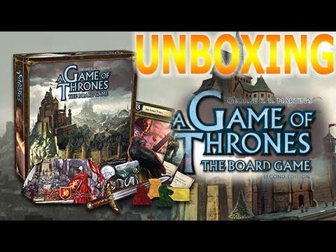 A Game Of Thrones: The Board Game - Unboxing
