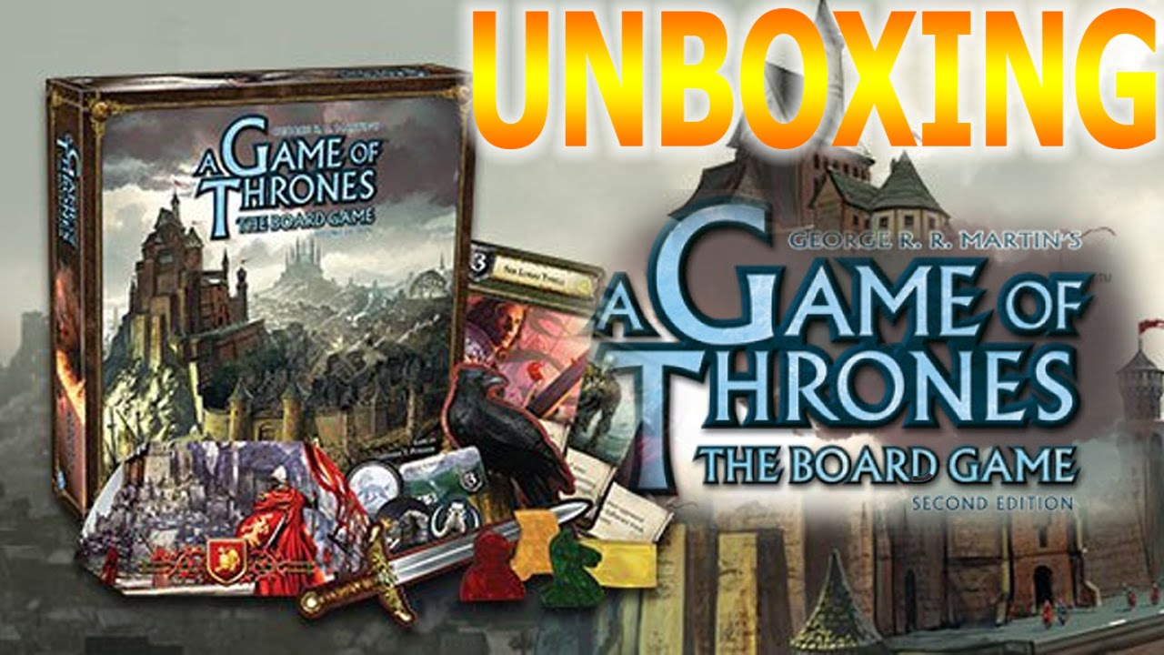 What I GoT for my Birthday | Game Of Thrones Board Game ...