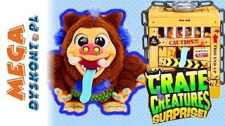 Crate Creatures Surprise • Interaktywna Bestia zamknięta w skrzyni