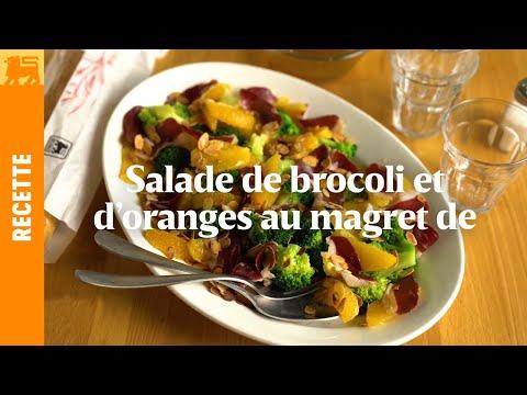 Salade de broccoli et d'oranges