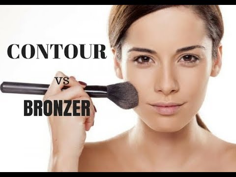 Bronzing Vs Contour Demo Whats The Difference How To Contour And