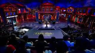 Darling Aankhon se Aankhen char kar lo-Usha Uthhup awesome performance in The  Kapil Sharma Show
