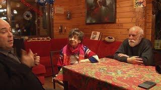 Интервью с Соловьевой-Седой и Митрофановым. 1 часть. С субтитрами