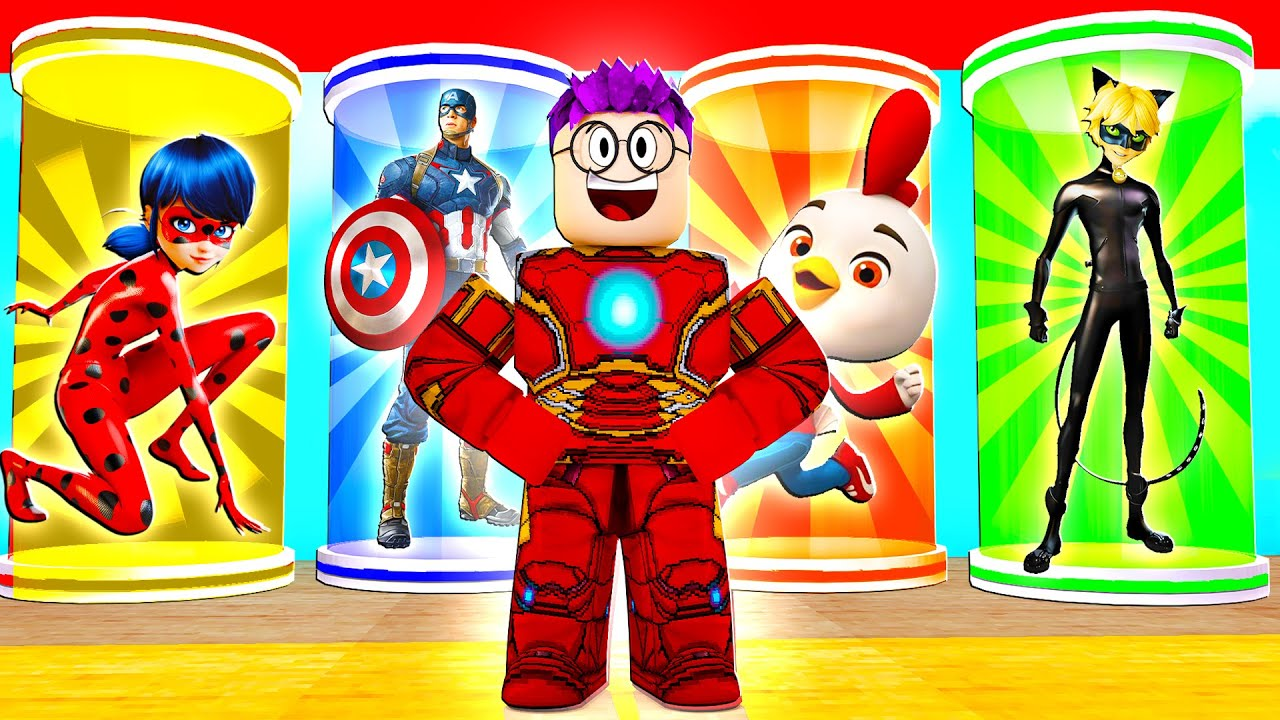 Download Can We Become SUPERHEROES In ROBLOX SUPERHERO TYCOON?! (Top Wing, Miraculous Ladybug, & MORE!)