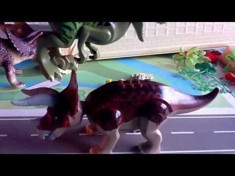 Short Dromeosaur/Raptor stopmotion
