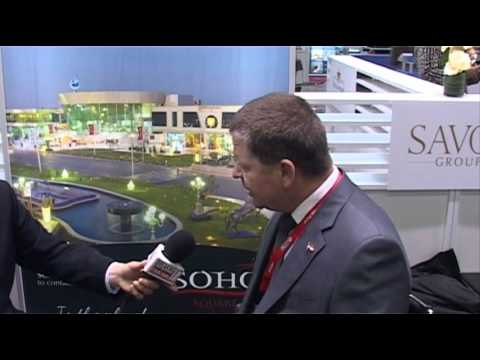 Dieter Geiger, General Manager, Savoy Group @ ITB Berlin 2012
