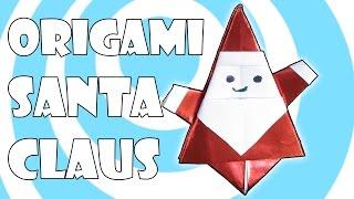 Video DIY: Origami Santa Claus 🎅 Tutorial 🎬 (Matsuno Yukihiko) download MP3, 3GP, MP4, WEBM, AVI, FLV Oktober 2018