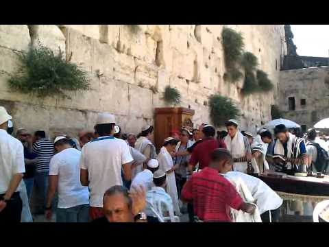 Around The Holy Land- The Western Wall- The Kotel- Bar Mitzvah Hub