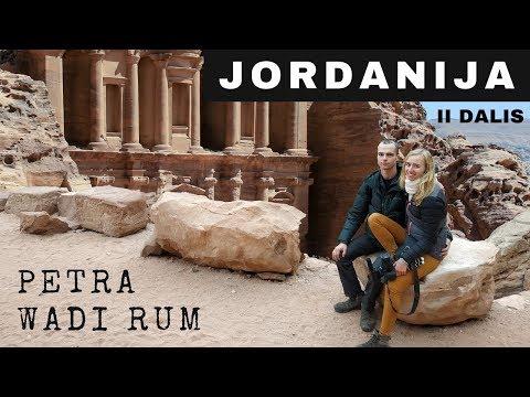 JORDANIJA (II dalis) | Petra, Wadi Rum dykuma | Vlogas