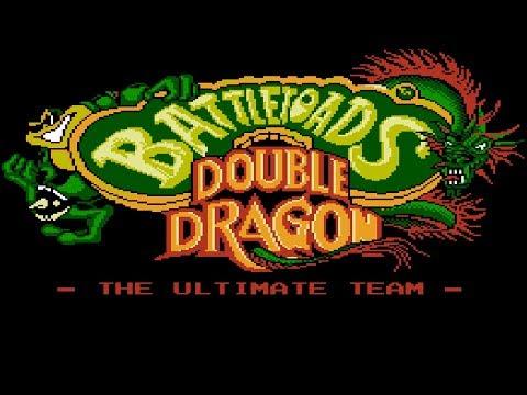 Боевые Жабы на Денди - Battletoads And Double Dragon - игра девяностых!
