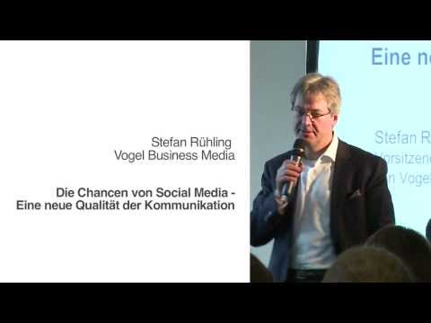 "Stefan Rühling, Vogel Business Media - ""Keynote: Die Chancen von Social Media """