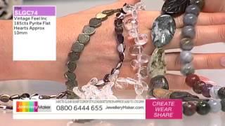 Jewellerymaker Live Am 6/02/2014 [how To Make Beaded Jewellery]