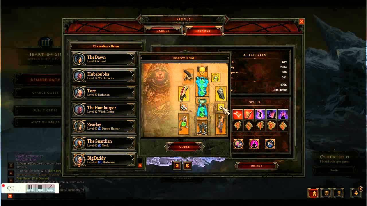 Diablo 3 Demon Hunter Hell Gear Farm Act 3 Обзор - YouTube