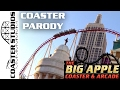 Coaster Parody: The Big Apple Coaster at the New York New York Hotel & Casino