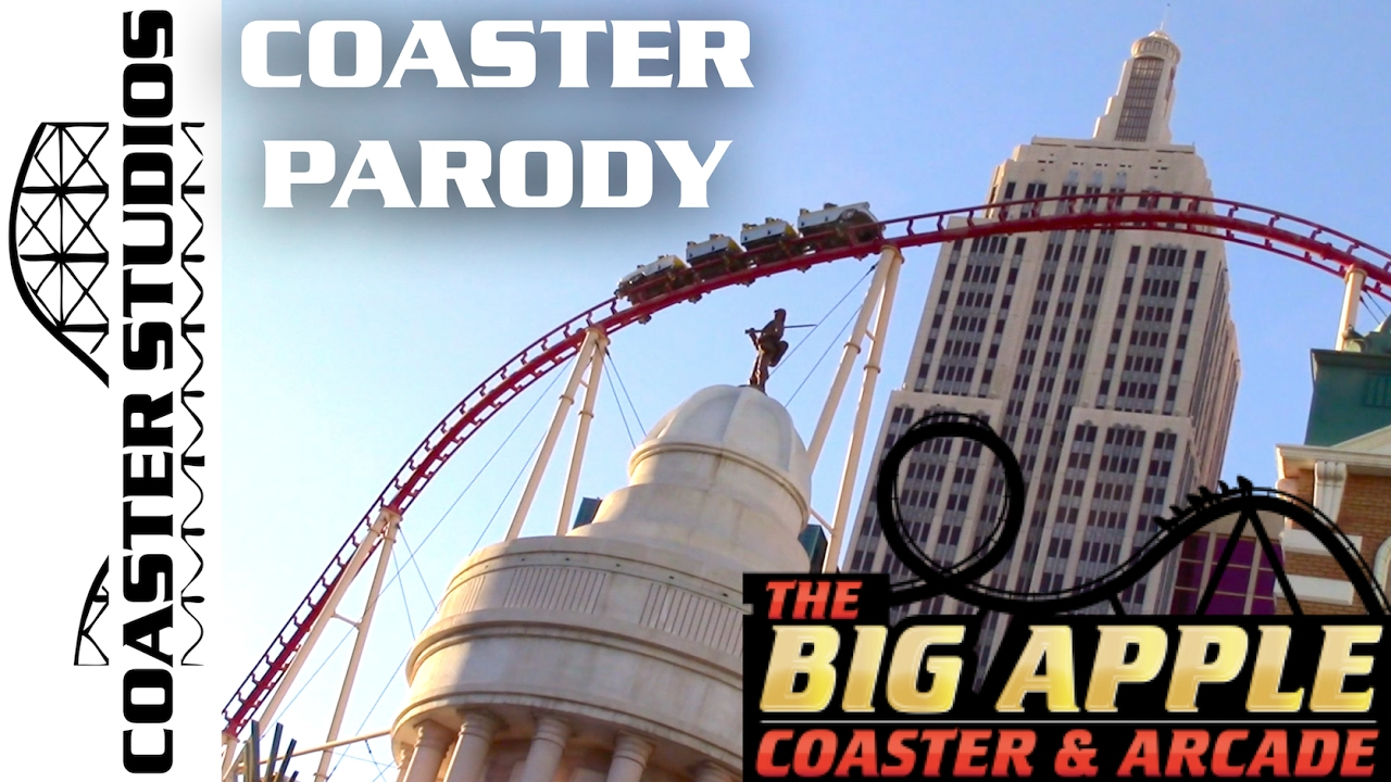 Coaster parody the big apple coaster at the new york new for Ohrensessel york big