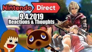 Nintendo Direct 9.4.2019 | REACTIONS & THOUGHTS