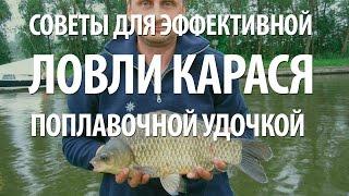 Карась - поплавочная рыбалка на карася(В видео, любительская поплавочная рыбалка на карася. Советы рыболова, как ловить карася на поплавочную..., 2016-01-20T17:23:54.000Z)