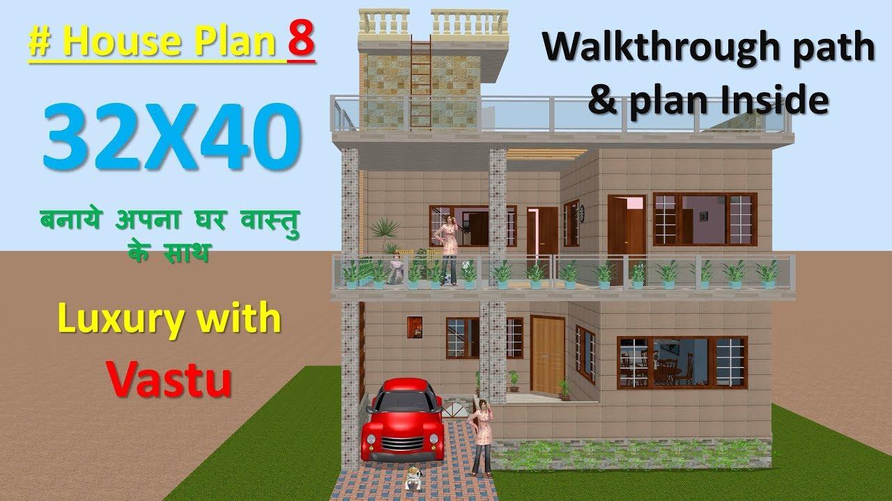21 x 21 house plan   Basement + 21 BHK house plan   BUILD IT HOME 𝗣𝗹𝗮𝗻  𝗜𝗗   21