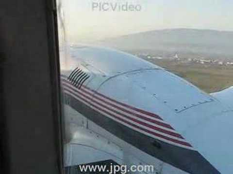 """Departing from Sport airfield """"SKOPJE"""" - Stenkovec"""
