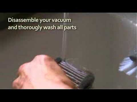 Healthy Byte - Cleaning Your HEPA Filter