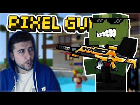 THE GOLDEN SECRET FORCES RIFLE IS THE BEST PRIMARY IN THE GAME! OP | Pixel Gun 3D