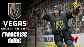 NHL 18 Franchise Mode Vegas Golden Knights Episode 5 - Penguins Come to Town - NHL 18 Franchise Mode
