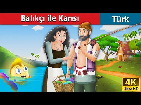Balıkçı ile Karısı | Masal dinle |  Masallar | Peri Masalları | Türkçe peri masallar