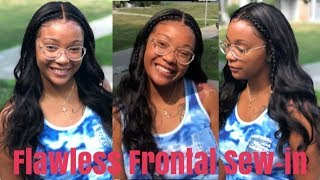 How to Slay a Frontal Sew In | Sunber