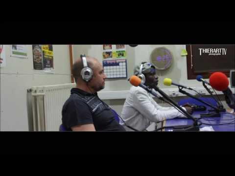 Visite a la Radio Libellule 107.8FM de BQ IFADA