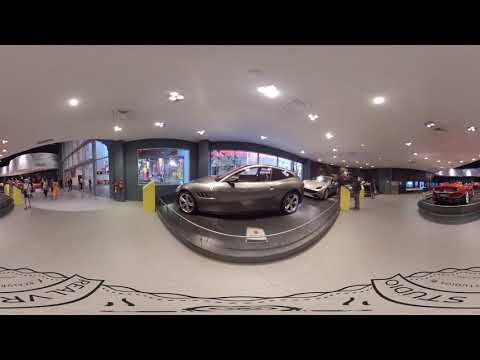 Galleria Ferrari in Ferrari World Abu Dhabi | Dubai in 360 by Real VR Studios | VR360° Travel Video
