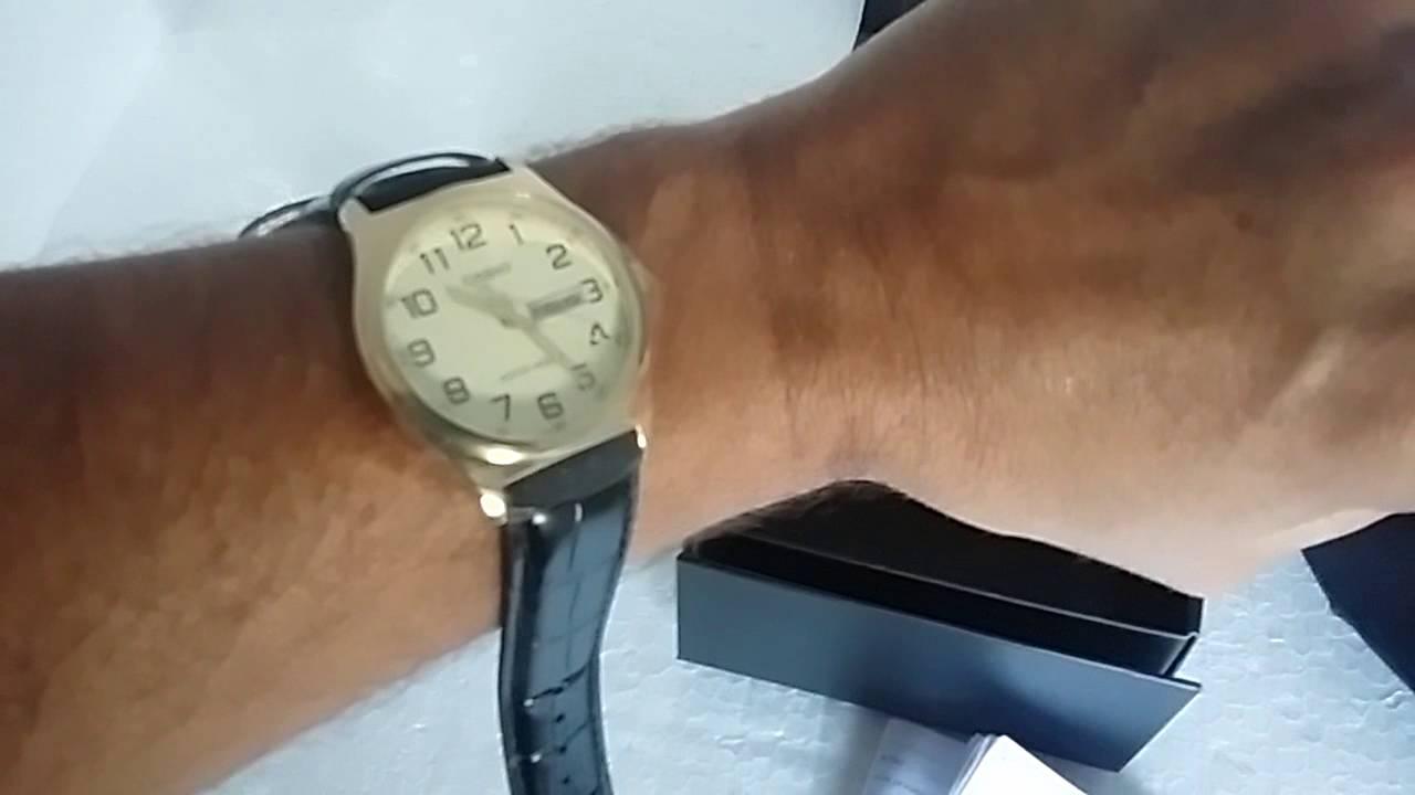 e96a7644ba4 Relógio Casio MTP-V003GL-9BUDF Analógico Masculino - YouTube