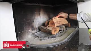 Видео Totem Allumage Разжигаем правильно камин(Каминная топка Totem. В данном видео показано как правильно разжигать огонь в топке для камина. На видео камин..., 2016-07-15T07:27:24.000Z)