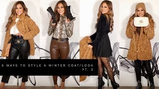 5 WAYS TO STYLE A WINTER LOOK | Lina Noory