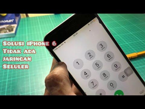 Sinyal iPhone No Service, Tiada Layanan, Searching, Mencari , No Signal Coba Lakukan Ini !!.