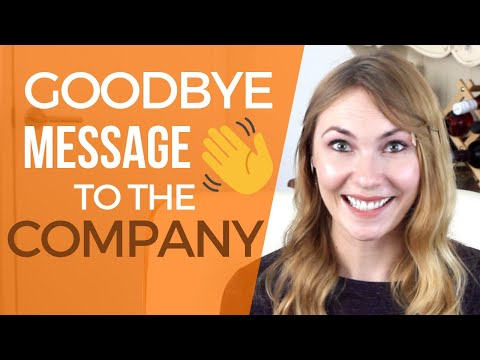 Farewell Letter To Coworkers - Template & Example!